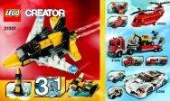 Lego Mini Skyflyer - 31001 (2012) - Year of the snake BI Creator 148x88 - 24, 31001 V29