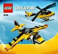 Lego Propeller Power - 6745 (2008) - Mini Off-roader BI 3005/60 - 6745 V29+39 2/2