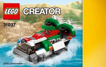 Lego Adventure Vehicles - 31037 (2015) - Red Go-Kart BI 3004/48 - 31037 V39 2/3