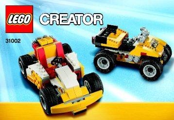 Lego Super Racer - 31002 (2012) - Year of the snake BI 3010/72+4*, 31002 V39 2 AF 2