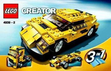 Lego Creator Co-pack - 66234 (2007) - Apple Tree House BUILD. INSTR. 3004 4939 2/2