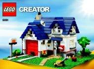 Lego Apple Tree House - 5891 (2010) - Apple Tree House BI 3006/72+4 - 5891 v39 1/3