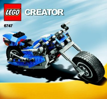Lego Race Rider - 6747 (2009) - Mini Off-roader BI 3005/60 - 6747 - 3/3