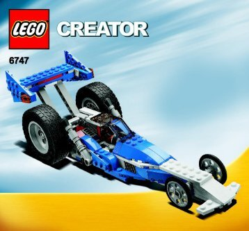 Lego Race Rider - 6747 (2009) - Mini Off-roader BI 3005/48 - 6747 - 2/3