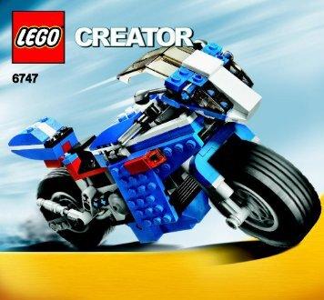 Lego Race Rider - 6747 (2009) - Mini Off-roader BI 3005/60 - 6747 - 1/3