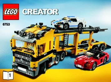 Lego Highway Transport - 6753 (2009) - Mini Off-roader BI 3006/72+4 - 6753 1/5
