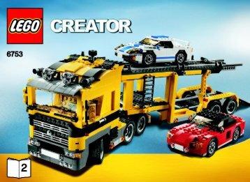 Lego Highway Transport - 6753 (2009) - Mini Off-roader BI 3006/60+4 - 6753 2/5