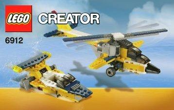 Lego Super Soarer - 6912 (2012) - Super Soarer BI 3004/68+4*- 6912 V29/39 2/2