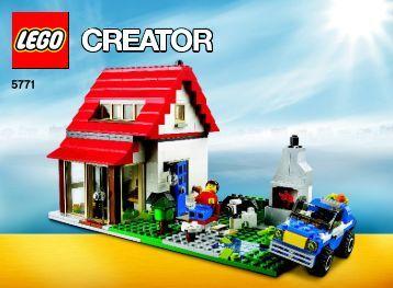 Lego Hillside House - 5771 (2011) - Transport Truck BI 3006/72+4 - 5771 V29/39 2/3