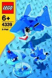 Lego Aqua Pod - 4339 (2005) - Wild Collection BI, 4339
