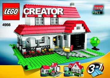 Lego House - 4956 (2007) - Fast flyers BUILD. INSTR. 1031, 4956 2/3