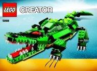 Lego Ferocious Creatures - 5868 (2010) - Transport Truck BI 3006/48 - 5868 V39 1/2