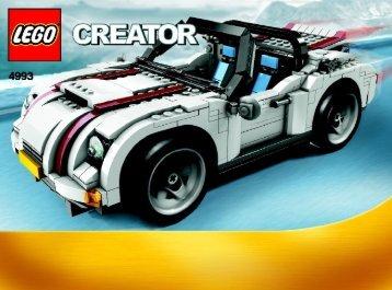 Lego Cool Convertible - 4993 (2008) - Fast flyers BI 3006, 4993, BOOK 1