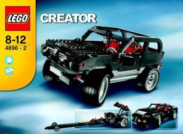 Lego Roaring Roadsters - 4896 (2006) - Prehistoric Power BUILD. IN.3006 ART.4896 2/3