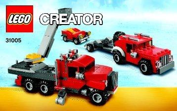 Lego Construction Hauler - 31005 (2012) - Year of the snake BI 3004/80+4*-, 31005 V39 2 AF 2