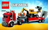 Lego Construction Hauler - 31005 (2012) - Year of the snake BI 3004/60+4*-, 31005 V39 1 AF 2
