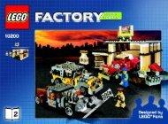 Lego Custom Car Garage - 10200 (2008) - LEGO® Hobby Train BUILDING INSTR. 10200 NO 2 V29