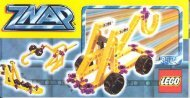 Lego YELLOW TRUCK - 3504 (1998) - GREEN JET PLANE BUILDING INST. FOR 3504