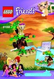 Lego Lion Cub's Savanna - 41048 (2014) - Turtle's Little Paradise BI 3001/20 - 41048 V29