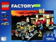 Lego Custom Car Garage - 10200 (2008) - LEGO® Hobby Train BUILDING INSTR.10200 NO 1 V 29