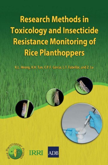 Research Methods in Toxicology and Insecticide Resistance ...