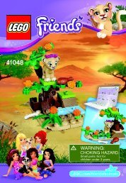 Lego Lion Cub's Savanna - 41048 (2014) - Turtle's Little Paradise BI 3001/20 - 41048 V39