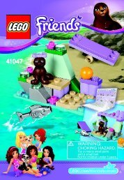 Lego Seal's Little Rock - 41047 (2014) - Turtle's Little Paradise BI 3001/20 - 41047 V39