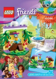 Lego Macaw's Fountain - 41044 (2014) - Turtle's Little Paradise 41044 B Model