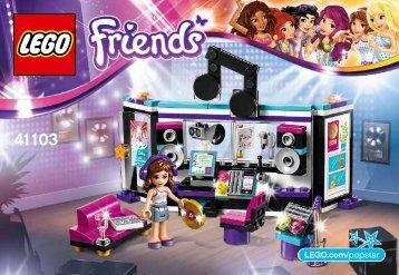 Lego Pop Star Recording Studio - 41103 (2015) - Stephanie's Pizzeria BI 3010/60+4*- 41103 V29