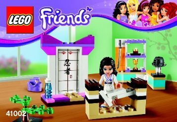 Lego Emma's Karate Class - 41002 (2013) - Andrea's Bunny House BI 3001/32 - 41002 V29