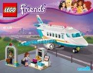 Lego Heartlake Private Jet - 41100 (2015) - Stephanie's Pizzeria BI 3018/64+4/65+115g, 41100 V29