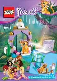 Lego Tiger's Beautiful Temple - 41042 (2014) - Turtle's Little Paradise 41042 B Model