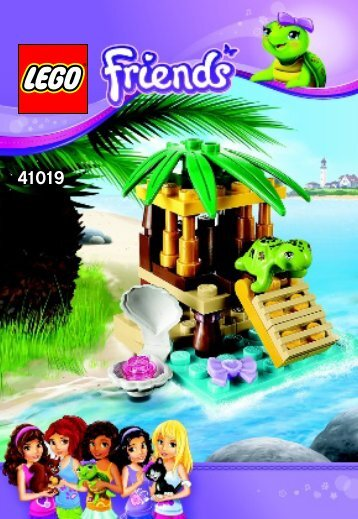 Lego Turtle's Little Oasis - 41019 (2013) - Heartlake Pet Salon BI 3001/16 - 41019 V29
