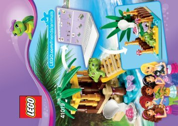Lego Turtle's Little Oasis - 41019 (2013) - Heartlake Pet Salon 41019 B Model