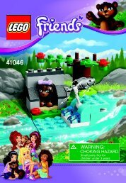Lego Brown Bear's River - 41046 (2014) - Turtle's Little Paradise BI 3001/20 - 41046 V39