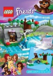 Lego Brown Bear's River - 41046 (2014) - Turtle's Little Paradise 41046 B Model