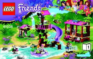 Lego Jungle Rescue Base - 41038 (2014) - Olivia's Ice Cream Bike BI 3004/32 - 41038 V29 BOOK 1/2