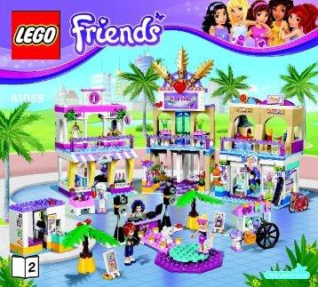 Lego Heartlake Shopping Mall - 41058 (2014) - Heartlake Horse Show BI 3017 / 56 - 65g - 41058 V29 BOOK 2/4
