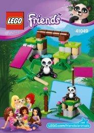 Lego Panda's Bamboo - 41049 (2014) - Turtle's Little Paradise 41049 B