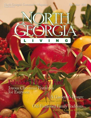 Fabulous Holiday Fun! - North Georgia Living Magazine