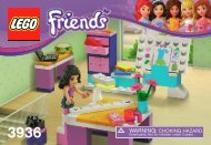 Lego Emma's Fashion Design Studio - 3936 (2012) - Olivia's House BI 3001/28-65G- 3936 V39