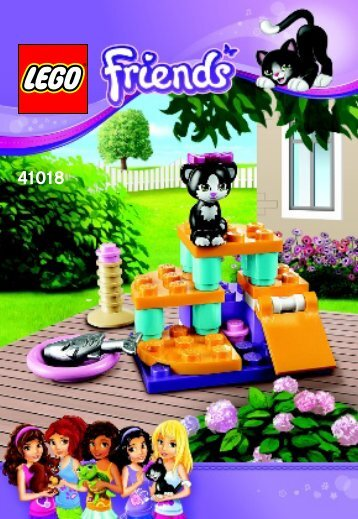 Lego Cat's Playground - 41018 (2013) - Heartlake Pet Salon BI 3001/16 - 41018 V29