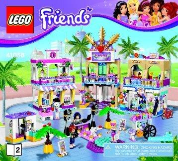 Lego Heartlake Shopping Mall - 41058 (2014) - Heartlake Horse Show BI 3017 / 56 - 65g - 41058 V39 BOOK 2/4