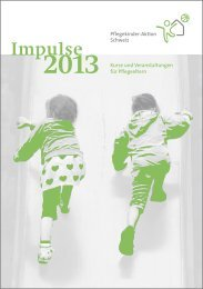 Impulse - Pflegekinder-Aktion Schweiz