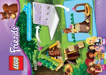 Lego Squirrel's Tree House - 41017 (2013) - Heartlake Pet Salon 41017 B Model