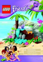 Lego Turtle's Little Paradise - 41041 (2014) - Turtle's Little Paradise BI 3001/16 - 41041 V39