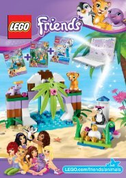 Lego Turtle's Little Paradise - 41041 (2014) - Turtle's Little Paradise 41041 + 41042 + 41043
