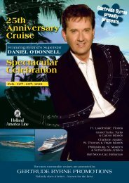 25th anniversary Cruise Spectacular Celebration - Sean Wilson ...