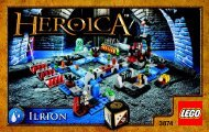 Lego HEROICA Ilrion - 3874 (2012) - Star Wars™: The Battle of Hoth™ BI 3004/24 -3874
