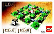 Lego The Hobbit: An Unexpected Journey - 3920 (2012) - Star Wars™: The Battle of Hoth™ BI 3004/32 -3920 NA